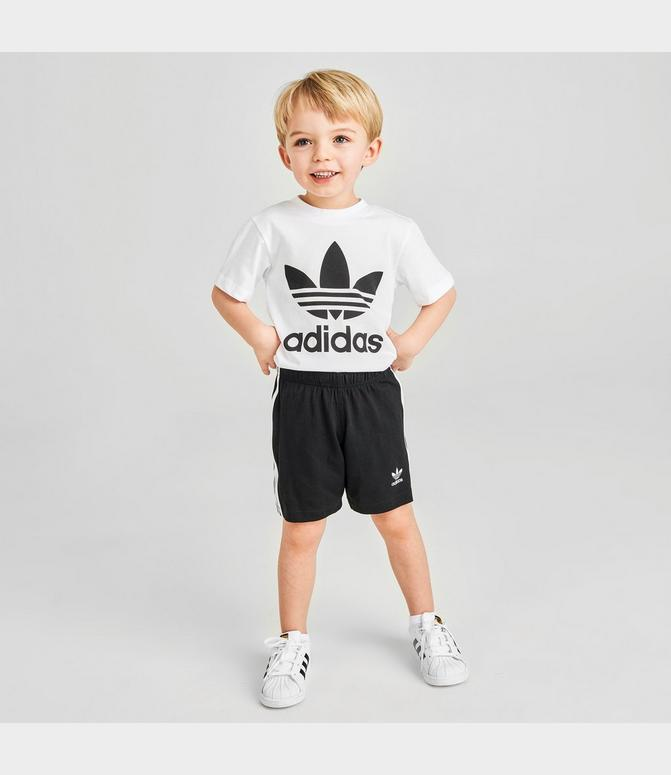 adidas shirt and shorts