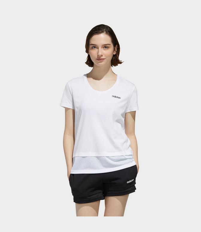 adidas shirt material