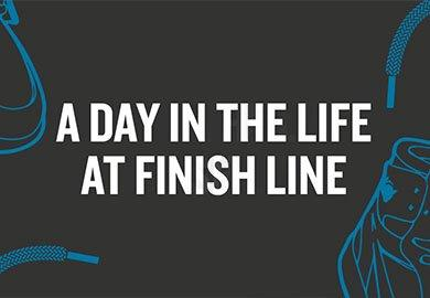 A day in the life at Finish Line