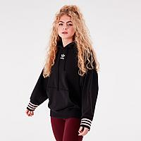 Finishline.com deals on Adidas Originals Oversized Hoodie For Womens