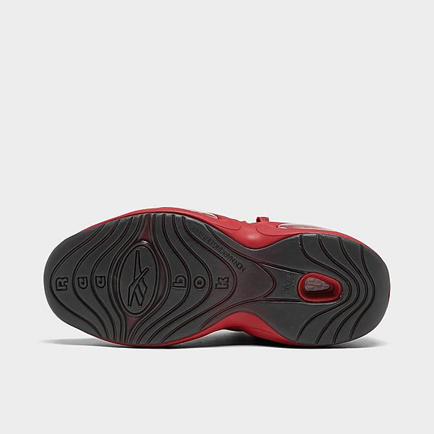 Men's Reebok Question Mid Patent Basketball Shoes
