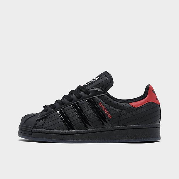 empeñar Mamut proteger  Boys' Big Kids' adidas Originals Superstar Star Wars Darth Vader Casual  Shoes| Finish Line