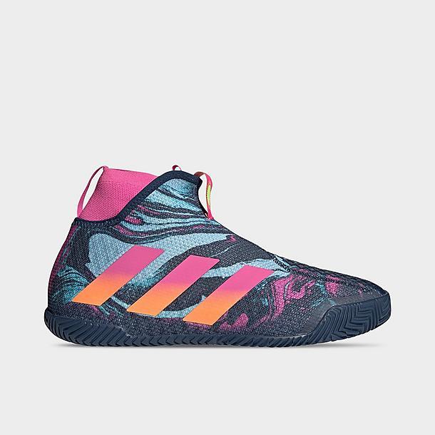 Men's adidas Stycon Laceless Hardcourt Tennis Shoes