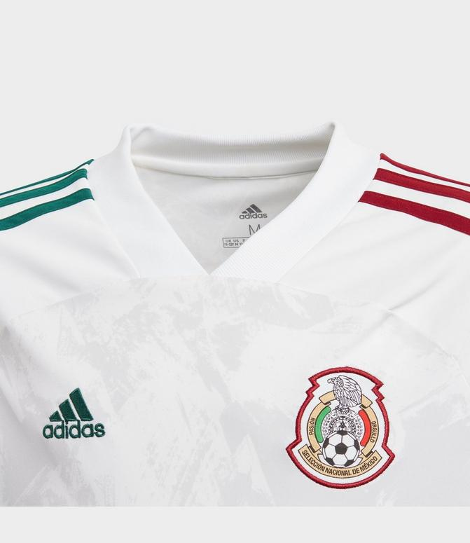 Kids' adidas Mexico Away Soccer Jersey| Finish Line