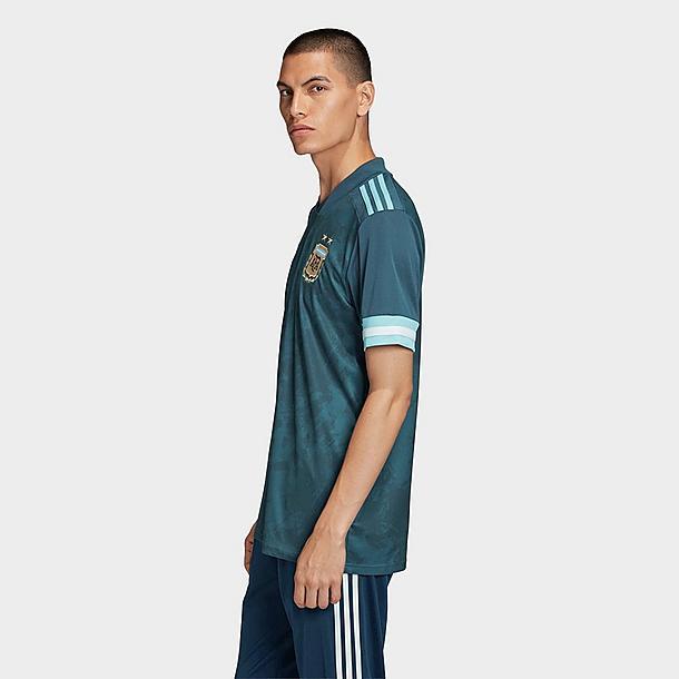 Men's adidas Argentina Away Soccer Jersey  Finish Line