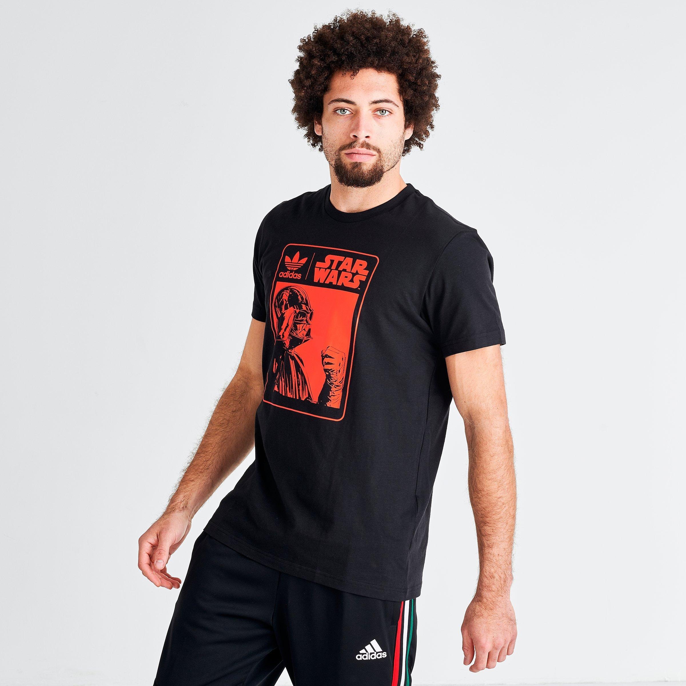 adidas star wars darth vader t shirt black