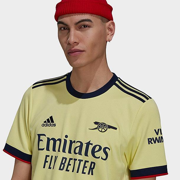 Men's adidas Arsenal 21-22 Away Soccer Jersey