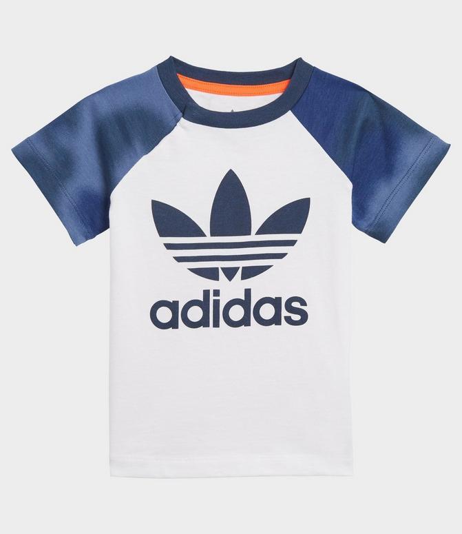 Infant and Kids' Toddler adidas Originals Camo Print T-Shirt and Shorts Set