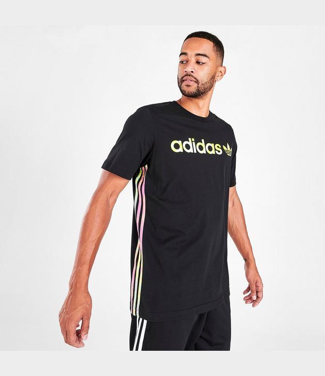 adidas 3 stripes tee originals