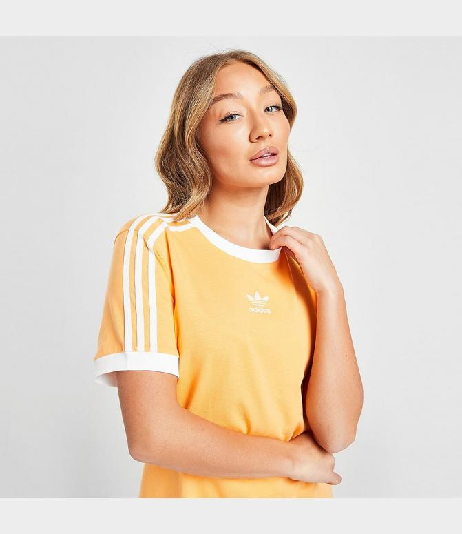 Women's adidas Originals 3-Stripes T-Shirt   Finish Line