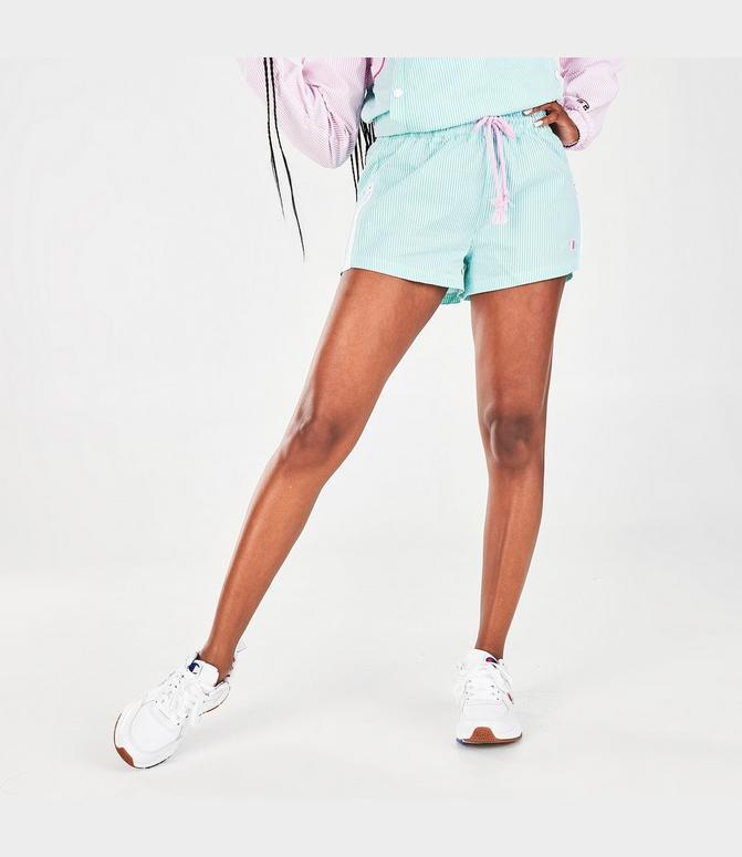Women S Champion Seersucker Shorts Finish Line