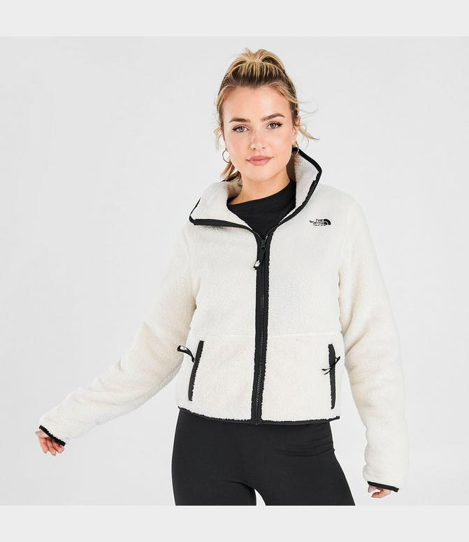 Women S The North Face Dunraven Sherpa Crop Jacket Finish Line