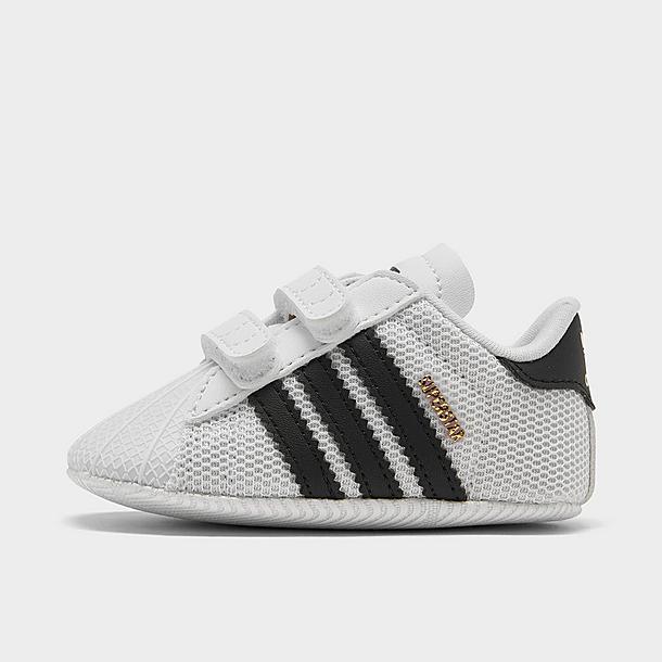 Infant adidas Originals Superstar Crib Shoes