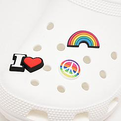 Crocs Jibbitz Feel the Love Charms (3-Pack)