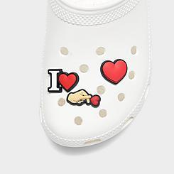 Crocs Jibbitz I Heart Charms (3-Pack)