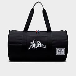 Herschel City Edition Team Logo Screenprint Sutton Mid Duffel Bag