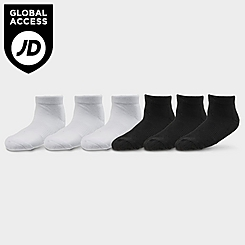 Kids' Toddler Sonneti Low Cut Socks (6-Pack)