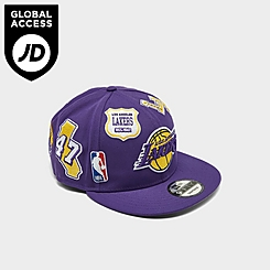 New Era Los Angeles Lakers NBA Patch 9FIFTY Snapback Hat