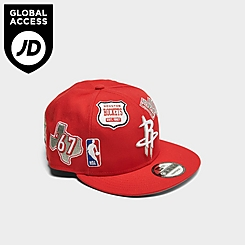 New Era Houston Rockets NBA Patch 9FIFTY Snapback Hat