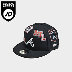 New Era Atlanta Braves MLB Patch 9FIFTY Snapback Hat