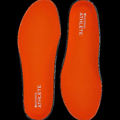 Sof Sole Women's Performance Athlete Gel Insole Size 8-11 in Black/None Fits women's shoe size 8-11 Implus® foam for superior cushioning Cut to size for an exact fit Gel pads in the heel and forefoot Neutral arch fits most Hydrologix moisture management keeps moisture at bay The Sof Sole Performance Athlete Gel Insole is imported. Get durable comfort underfoot for all of your athletic pursuits with the Women's Sof Sole Performance Athlete Gel Insole. Featuring full-length Implus® foam and Hydrologix moisture management, you'll get cushioning and breathability in one. Size: One Size. Color: Black. Gender: female. Age Group: adult. Sof Sole Women's Performance Athlete Gel Insole Size 8-11 in Black/None