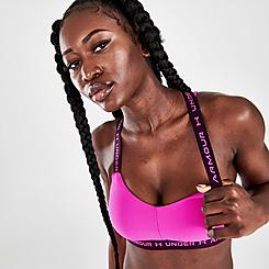 Women's Under Armour Crossback Low Light-Support Sports Bra