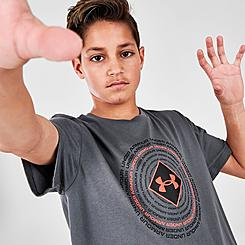 Boys' Under Armour UA Circle Repeat T-Shirt