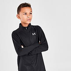 Boys' Under Armour UA Tech™ ½ Zip Top