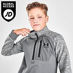 Boys' Under Armour AF Half-Zip Sweatshirt