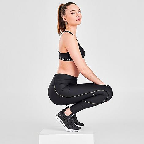 UNDER ARMOUR UNDER ARMOUR WOMEN'S HEATGEAR PIPING TRAINING TIGHTS