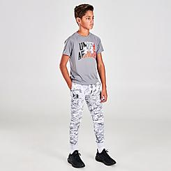 Boys' Under Armour Rival Fleece ABC Camo Jogger Pants