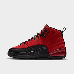 Big Kids' Air Jordan Retro 12 Basketball Shoes
