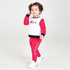 Girls' Infant Jordan Crew and Leggings Set