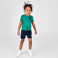 Boys' Toddler Champion Cloud Tie-Dye Box Outline T-Shirt and Shorts Set