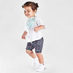Infant Girls' Nike Swoosh Sprinkles Bike Shorts Set