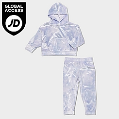 Girls' Infant Nike Velour Pullover Hoodie and Jogger Pants Set