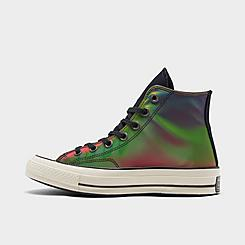 Big Kids' Converse Chuck 70 Iridescent Tie-Dye Casual Shoes