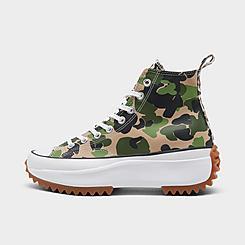 Women's Converse Run Star Hike Canvas Platform High Top Sneaker Boots