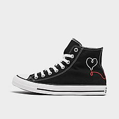 Women's Converse Chuck Taylor All Star Move Made With Love High Top Casual Shoes