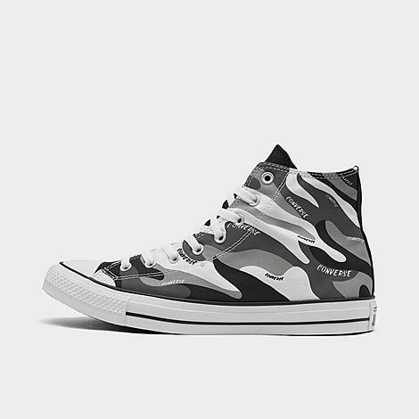Converse Chuck Taylor 70 Hybrid Camo High Top Casual Shoes In Black/white Camo