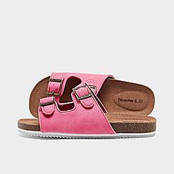 Girls' Big Kids' Bearpaw Brooklyn Slide Sandals