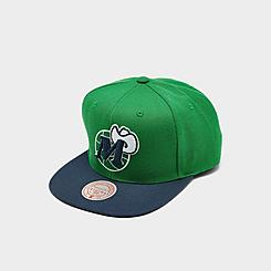 Men's Mitchell & Ness Dallas Mavericks NBA 2 Tone Classic HWC Snapback Hat