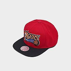 Mitchell & Ness Philadelphia 76ers NBA 2-Tone HWC Snapback Hat