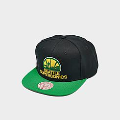 Mitchell & Ness Seattle Supersonics 2 Tone Classic Snapback Hat