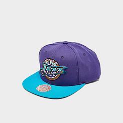 Mitchell & Ness Utah Jazz 2 Tone Classic Snapback Hat