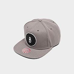 Mitchell & Ness Brooklyn Nets NBA Blackout Pop Snapback Hat