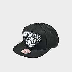 Mitchell & Ness New Orleans Pelicans NBA XL BWG Snapback Hat