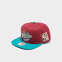 Mitchell & Ness Detroit Pistons NBA Patch N Go HWC Snapback Hat