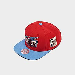 Mitchell & Ness Houston Rockets NBA Patch N Go HWC Snapback Hat