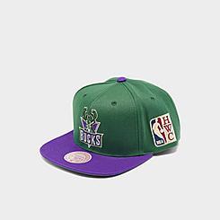 Mitchell & Ness Milwaukee Bucks NBA Patch N Go HWC Snapback Hat